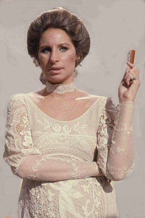 Streisand as seen during the taping of Barbra Streisand and other Musical Instruments in 1973
