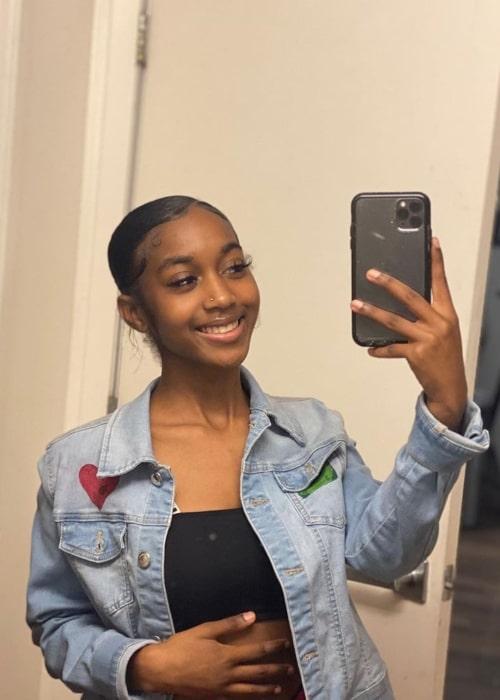 Tee Tee as seen in a selfie that was taken in September 2019