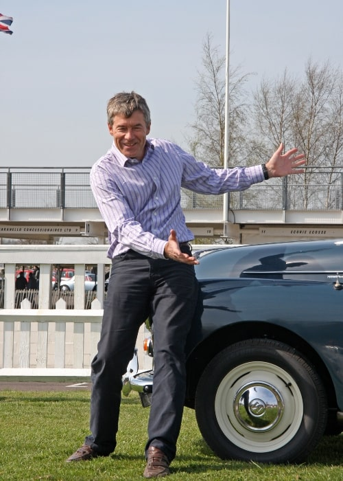 Tiff Needell in a picture that was taken on April 5, 2009