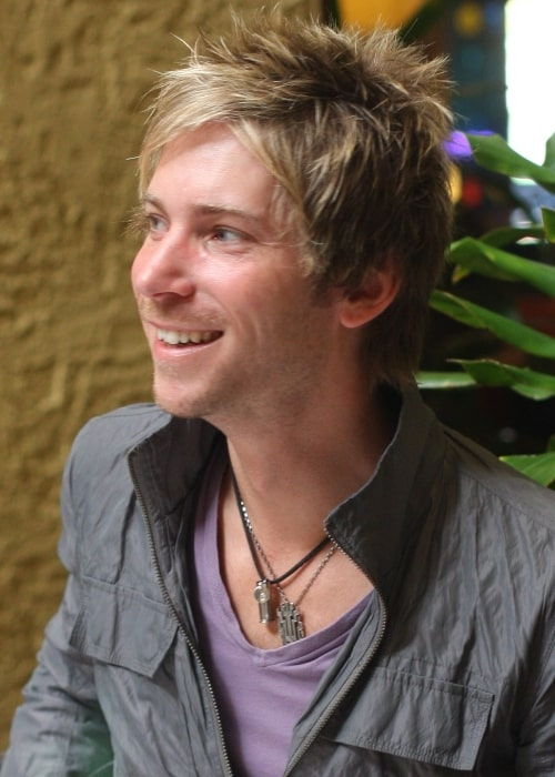 Troy Baker as seen in a picture that was taken during the anime convention Taiyoucon 2011 in Mesa, Arizona