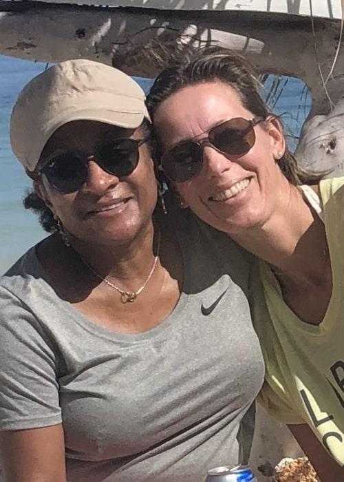 Wanda Sykes and Alex Niedbalski, as seen in February 2020