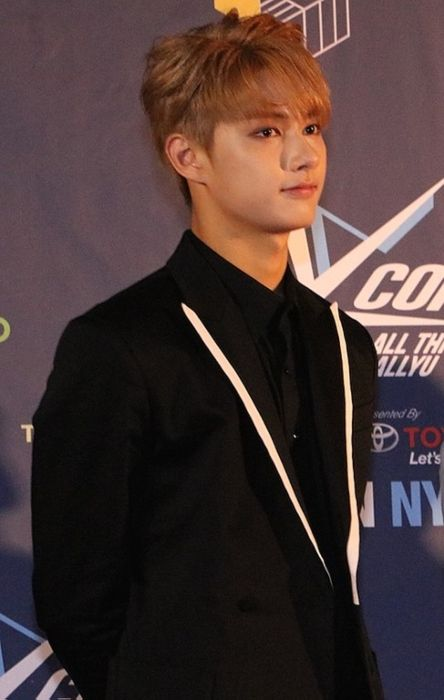 Wen Junhui as seen at the KCON New York press conference in 2016