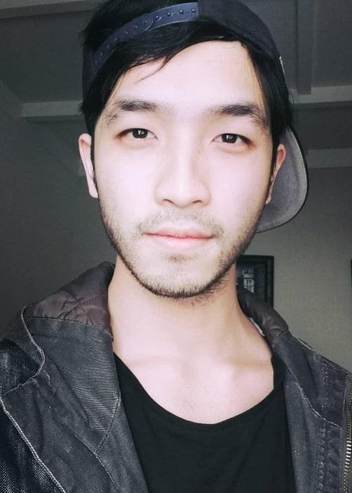 Yoson An as seen in a selfie in June 2019