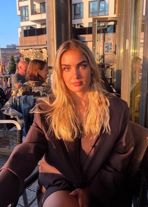 Adelén as seen in Oslo, Norway in August 2020