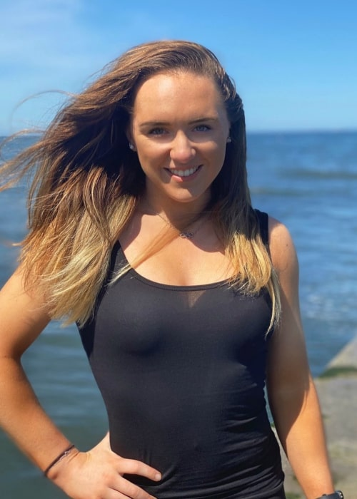 Amy Tinkler as seen in an Instagram Post in September 2020