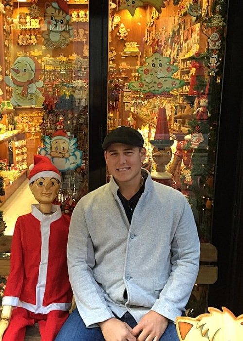 Anthony Rizzo as seen in an Instagram Post in December 2014