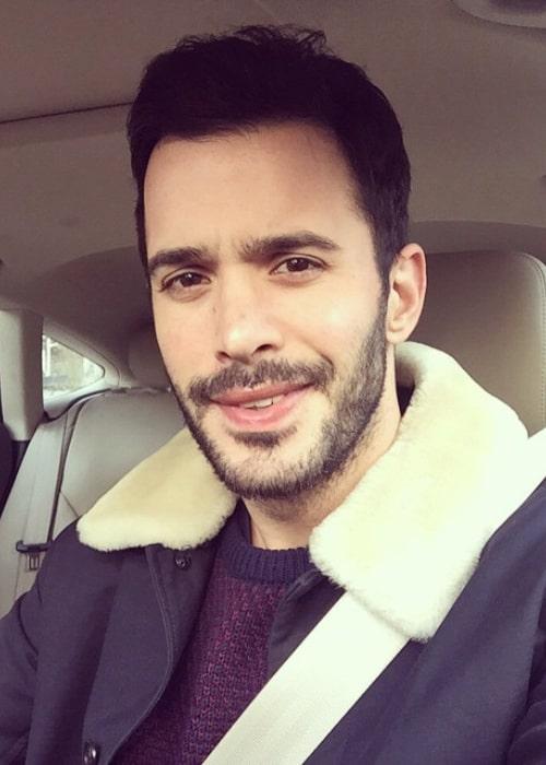 Barış Arduç in an Instagram selfie from December 2015