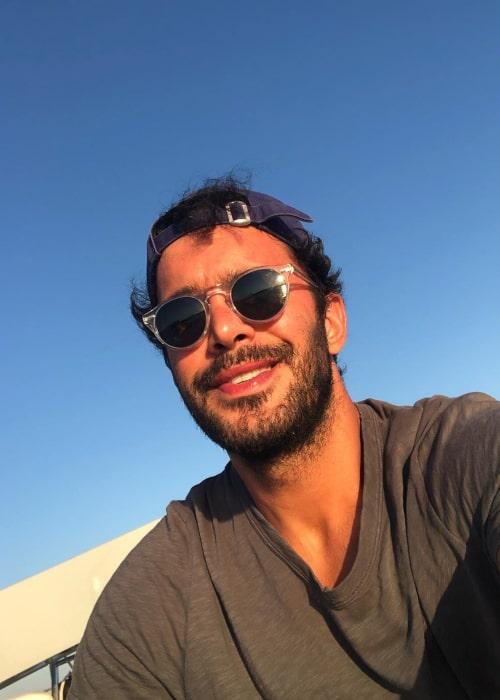 Barış Arduç in an Instagram selfie from July 2020