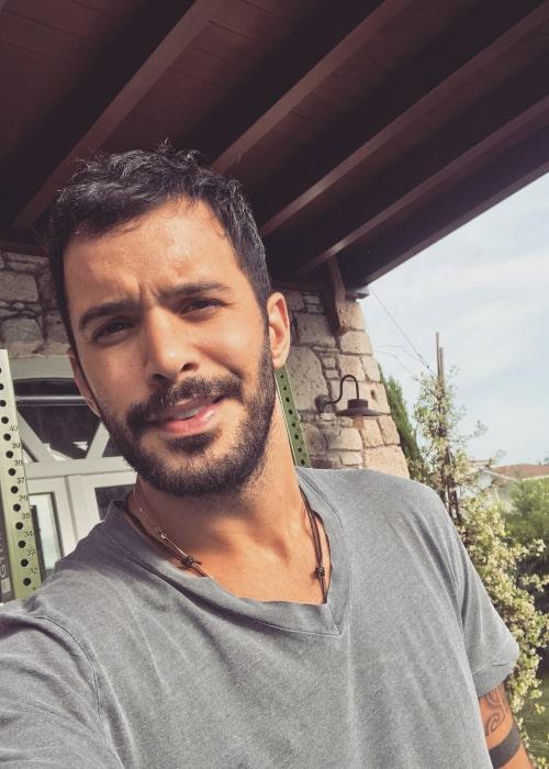 Barış Arduç in an Instagram selfie from May 2018