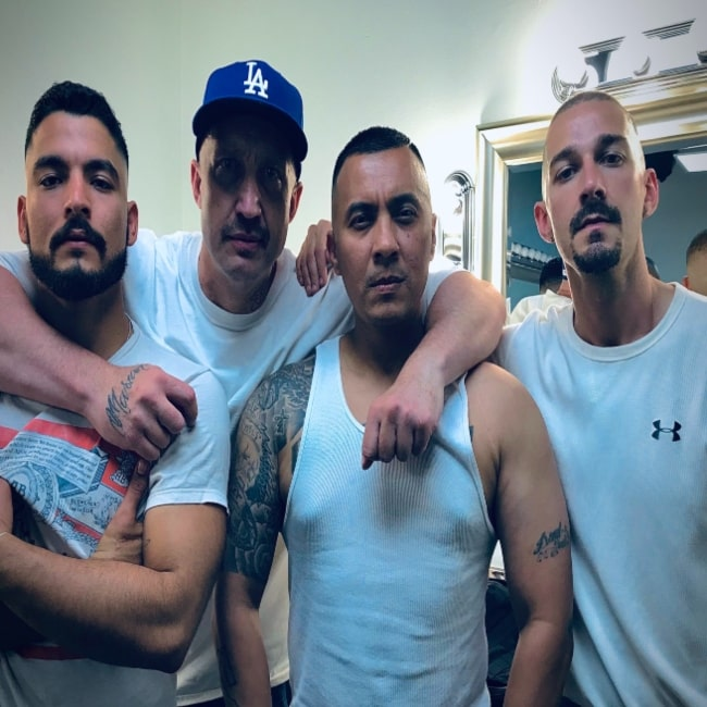 Bobby Soto as seen in a picture with Jay, Jose Conejo Martin, and Shia LaBeouf as seen in a picture that was taken in the past