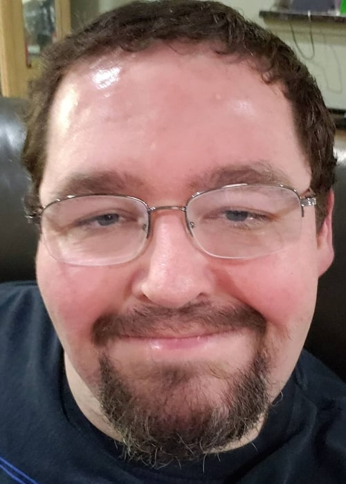 Boogie2988 in an Instagram selfie from March 2020