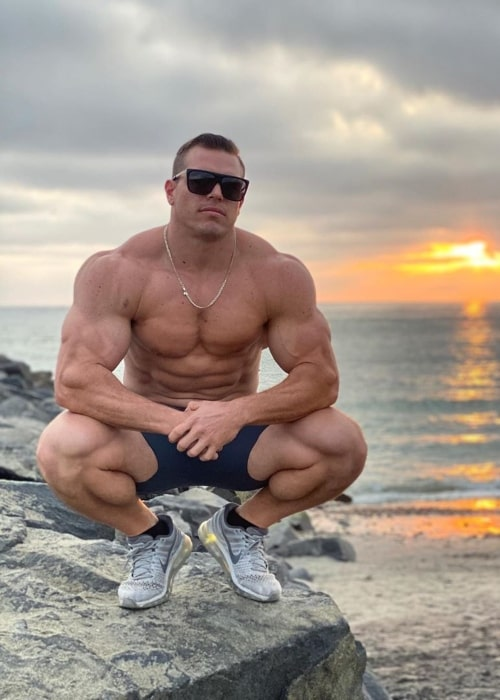 Brad Castleberry as seen in a picture that was taken in San Diego, California in October 2020