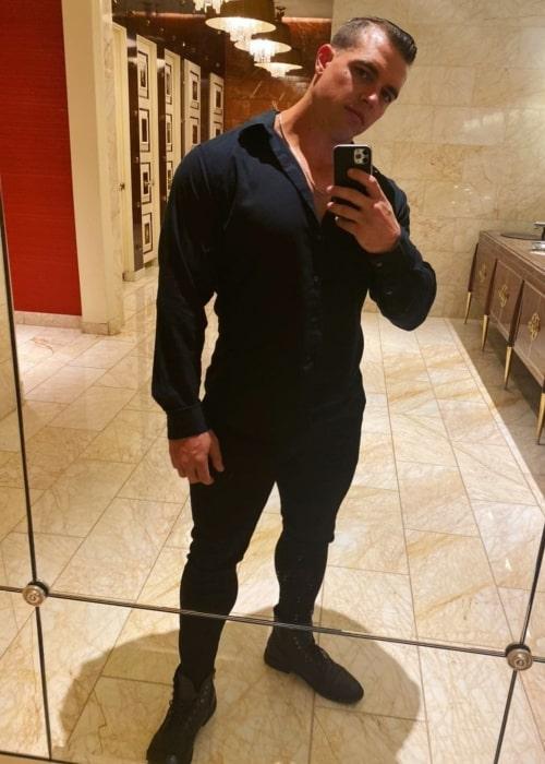 Brad Castleberry as seen in a selfie that was taken in Los Angeles, California in October 2020