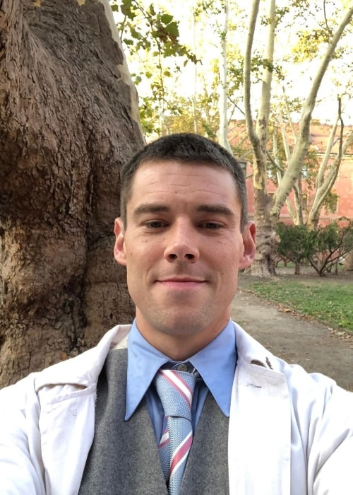 Brian J. Smith as seen while taking a selfie in April 2020