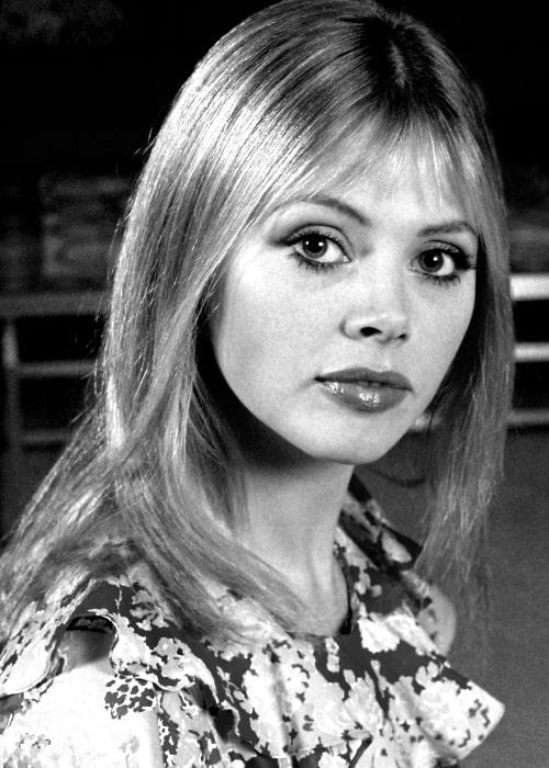 Britt Ekland in 1972