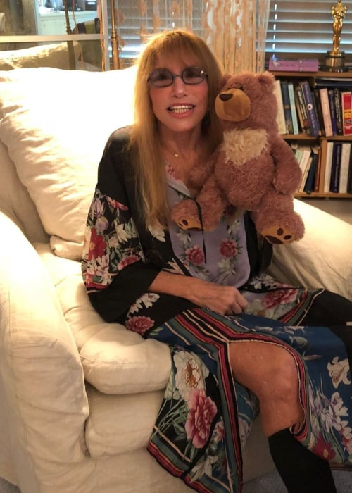 Carly Simon as seen in an Instagram Post in January 2020