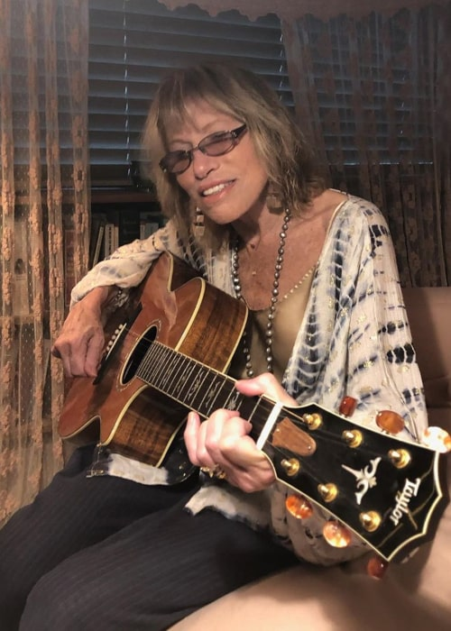Carly Simon as seen in an Instagram Post in September 2020