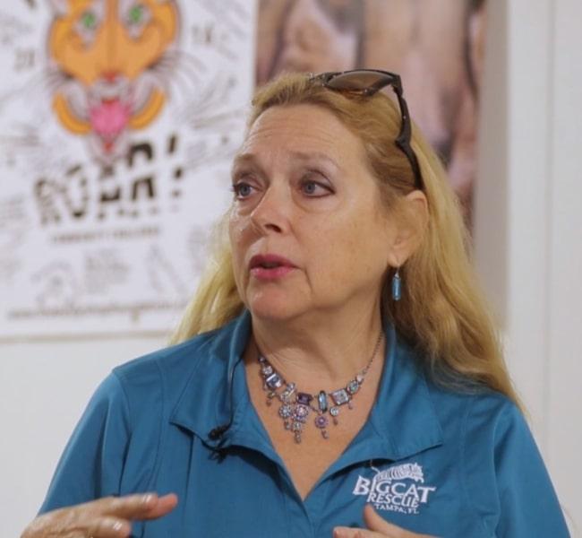 Carole Baskin in September 2019