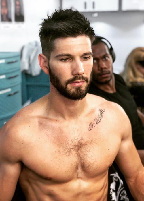Casey Deidrick as seen in an Instagram Post in June 2018