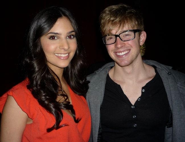 Chandler Massey and Camila Banus at the NoH8 campaign 2009