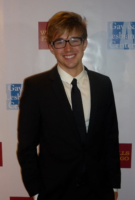 Chandler Massey pictured at the Gay and Lesbian Center event 2008