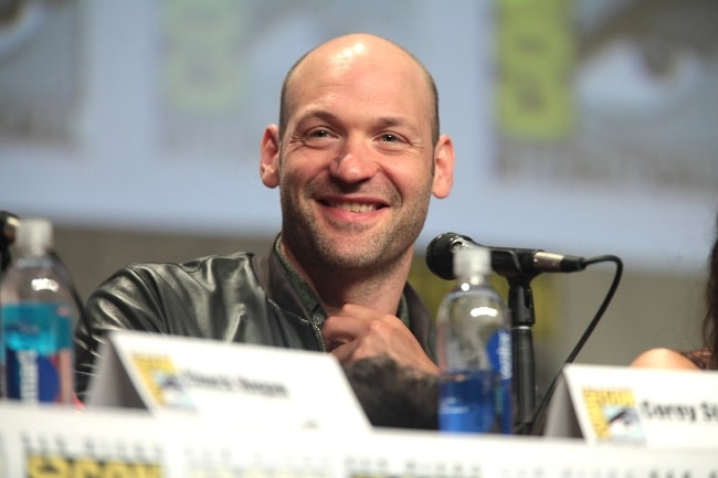 Corey Stoll as seen while speaking at the 2014 San Diego Comic Con International, for 'The Strain', at the San Diego Convention Center in San Diego, California