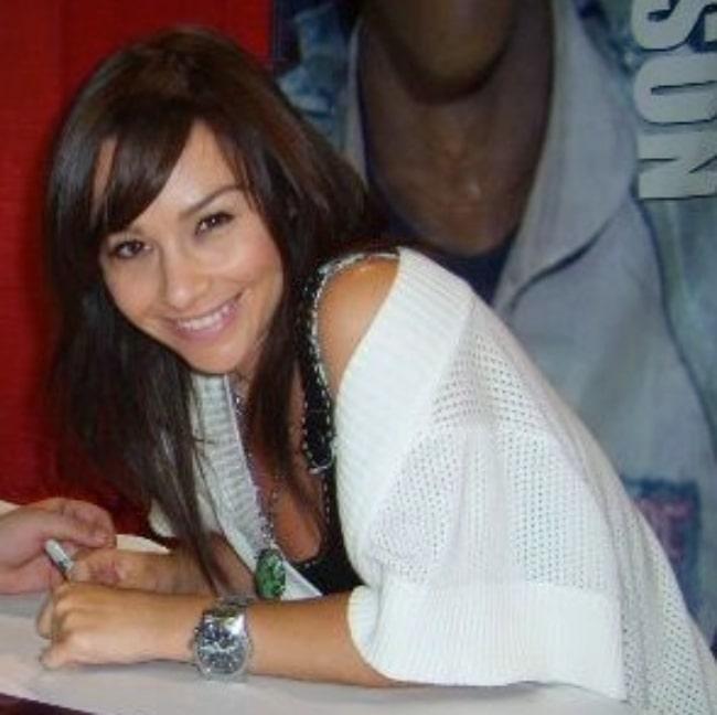 Danielle Harris as seen at AdventureCon 2008