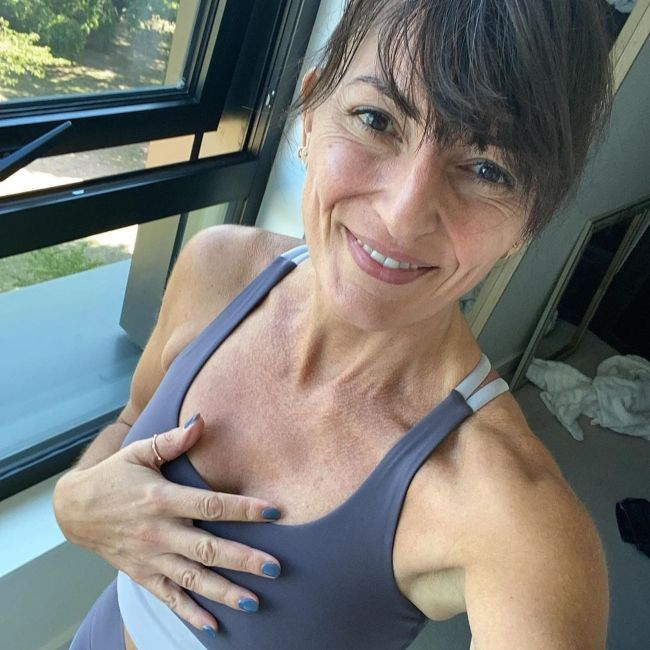 Davina McCall as seen in September 2020