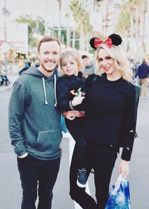 Eddie Fisher as seen at Walt Disney World with his family in 2018