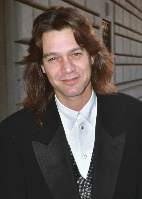 Eddie Van Halen as seen at the 45th Emmy Awards on September 19, 1993