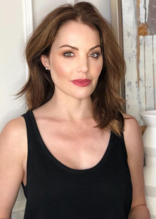 Erica Durance as seen in an Instagram Post in May 2019