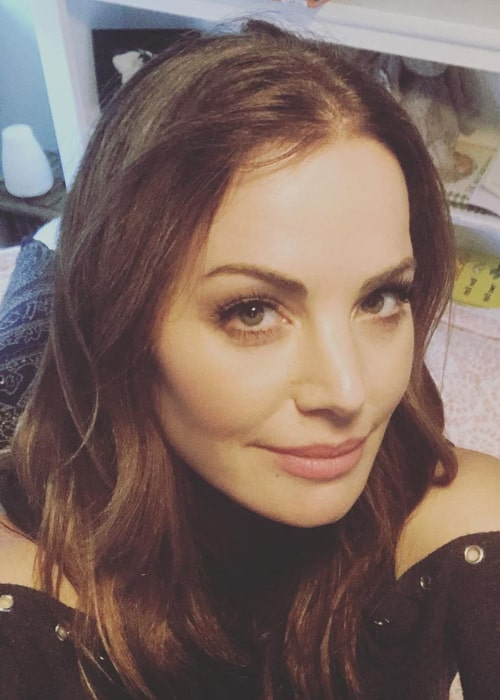 Erica Durance in an Instagram selfie from June 2019