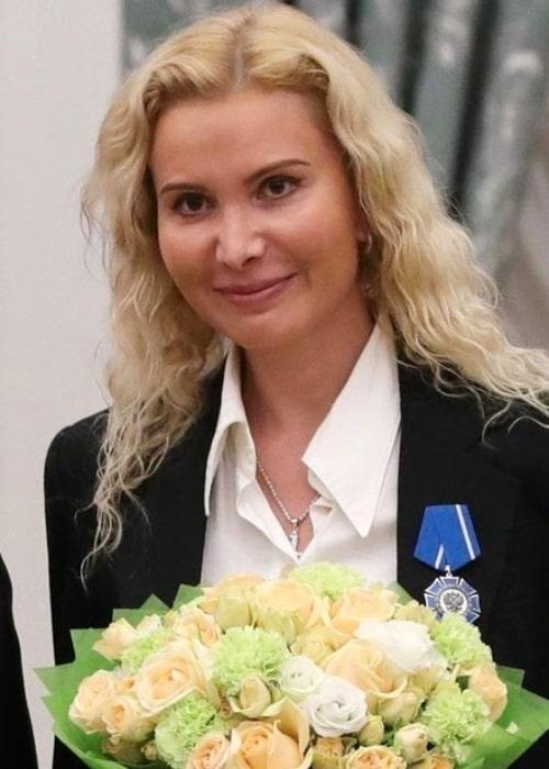 Eteri Tutberidze as seen in a picture that was taken on November 27, 2018