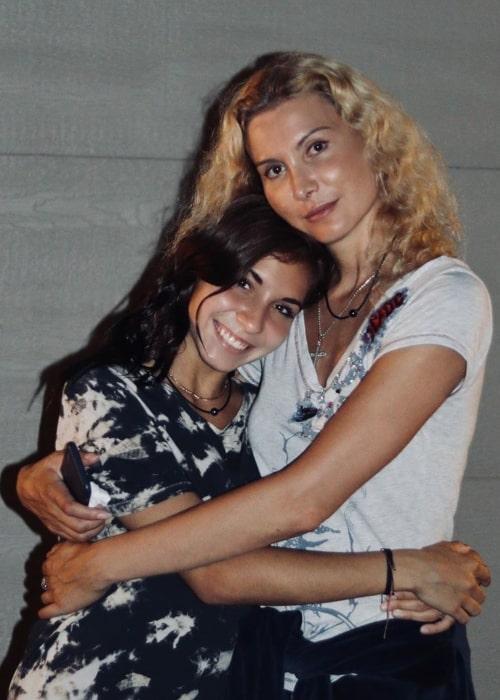 Eteri Tutberidze as seen in a picture that was taken with her daughter Diana Davis in June 2020