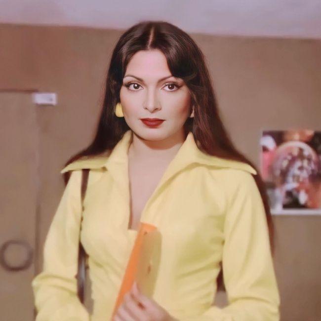 Famous Indian actress Parveen Babi
