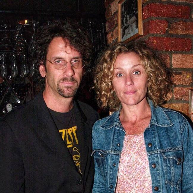 Frances and Joel Coen as seen at the after-party for the film Almost Famous