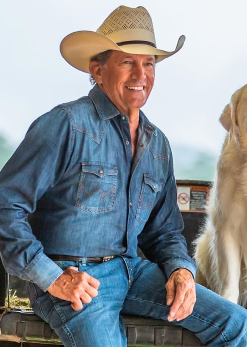 George Strait as seen in an Instagram Post in September 2020