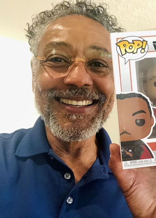 Giancarlo Esposito in an Instagram selfie from May 2020