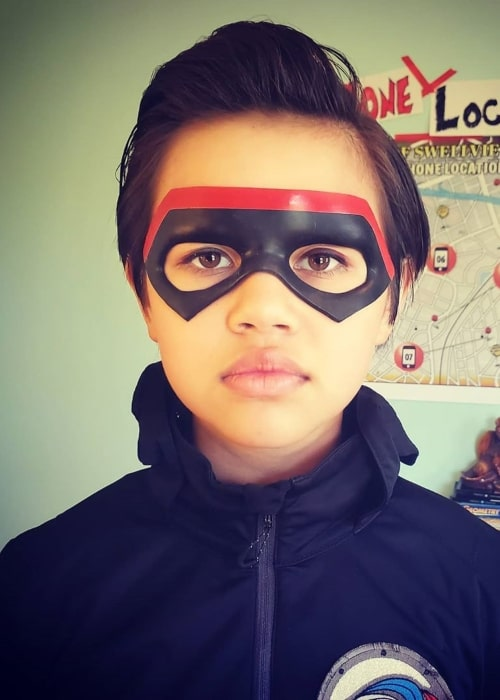 Havan Flores as seen in a picture while she was sporting her Chapa mask from Danger Force in May 2020
