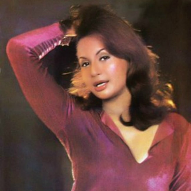 Helen in a picture that was taken while she possed for a Filmfare Photoshoot in 1969