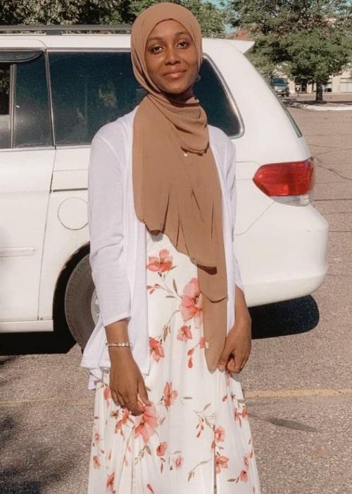 Hooodjabi as seen in a picture that was taken in July 2020