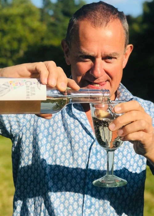 Hugh Bonneville as seen in an Instagram Post in July 2020