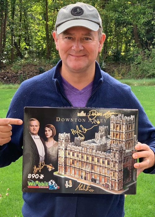 Hugh Bonneville as seen in an Instagram Post in October 2019