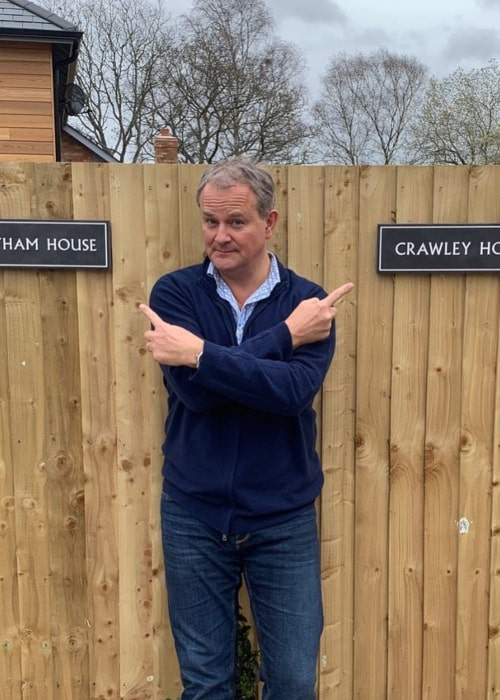 Hugh Bonneville as seen in an Instagram Post in September 2019