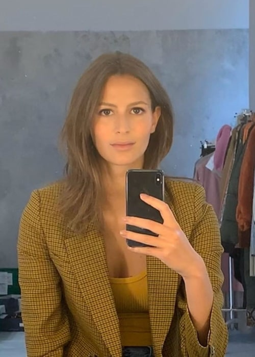 Jeanne Cadieu as seen in a selfie that was taken in October 2019