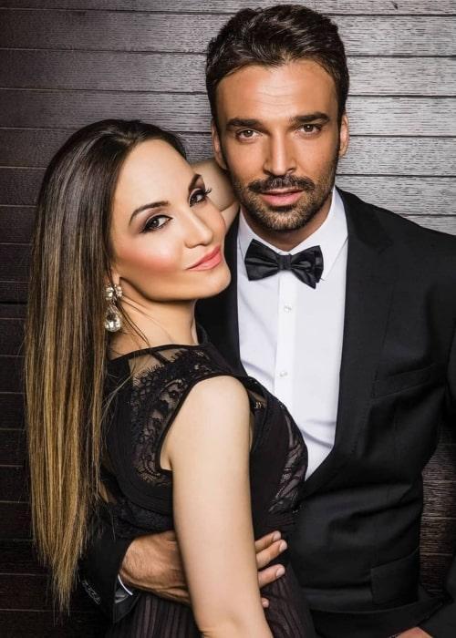 Jelena Tomašević and Ivan Bosiljčić, as seen in September 2020