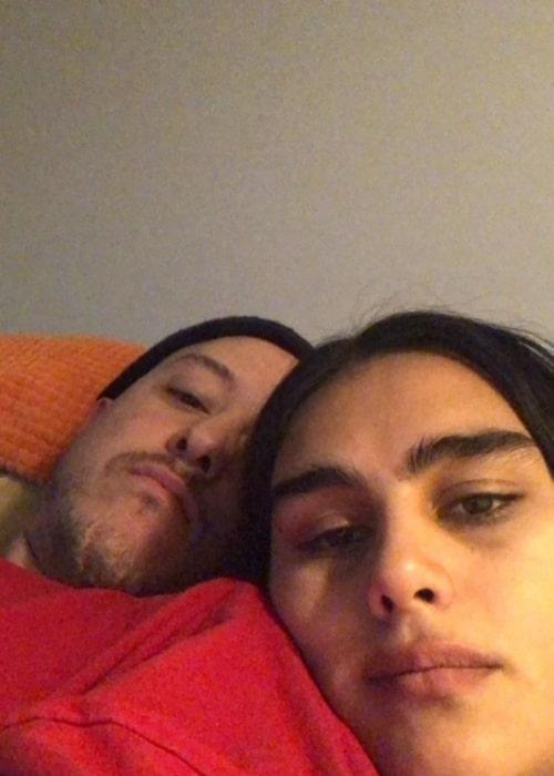 Jill Kortleve as seen in a selfie that was taken with her beau Chris in July 2020