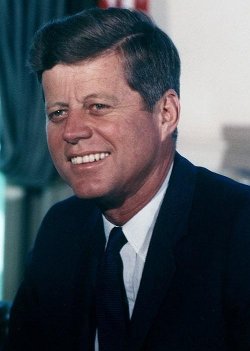 John F. Kennedy in the Oval Office in July 1963