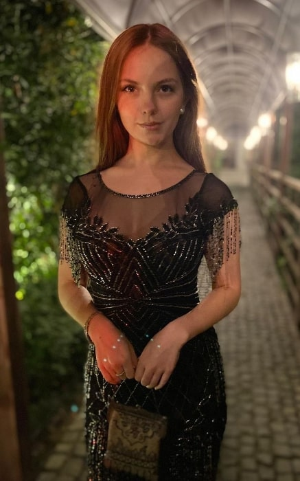 Jolie Vanier as seen at Soho House Istanbul in January 2020