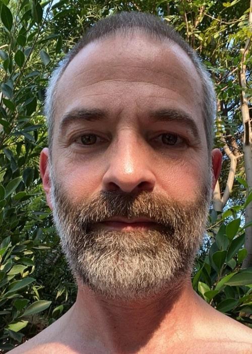 Jordan Schlansky as seen in a selfie that was taken in August 2020